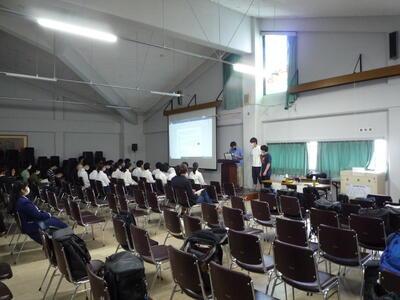 発表会の様子